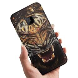 HTC One M9 - Skal / Mobilskal Rytande Tiger