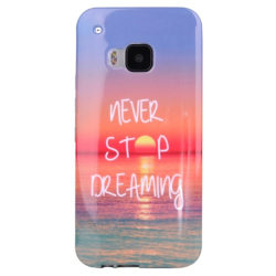 HTC One M9 - TPU Skal / Mobilskal Never Stop Dreaming