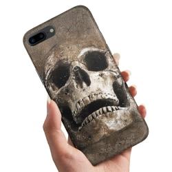Huawei Honor 10 - Skal / Mobilskal Cracked Skull