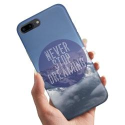 Huawei Honor 10 - Skal / Mobilskal Never Stop Dreaming