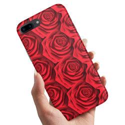 Huawei Honor 10 - Skal / Mobilskal Röda Rosor