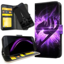 Huawei Honor 8 - Plånboksfodral Lila Fairy Tail purple