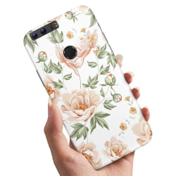 Huawei Honor 8 - Skal / Mobilskal Blommönster NULL
