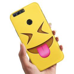 Huawei Honor 8 - Skal / Mobilskal Emoji / Smiley