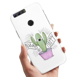 Huawei Honor 8 - Skal / Mobilskal Happy Cactus