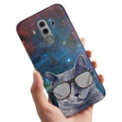 Huawei Mate 10 Pro - Skal / Mobilskal Cat Space