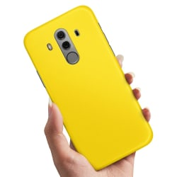 Huawei Mate 10 Pro - Skal / Mobilskal Gul Gul