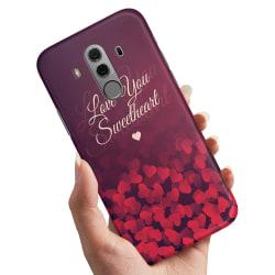 Huawei Mate 10 Pro - Skal / Mobilskal Hjärtan Love
