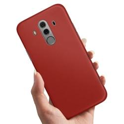 Huawei Mate 10 Pro - Skal / Mobilskal Mörkröd Mörkröd