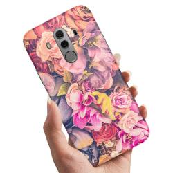 Huawei Mate 10 Pro - Skal / Mobilskal Roses