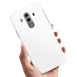 Huawei Mate 10 Pro - Skal / Mobilskal Vit Vit