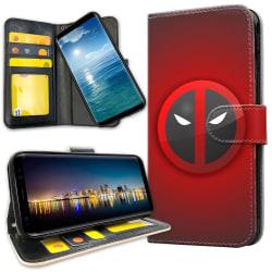 Huawei Mate 20 Lite - Plånboksfodral Deadpool Mark