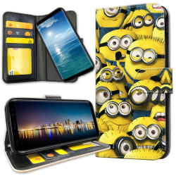 Huawei Mate 20 Lite - Plånboksfodral Minions