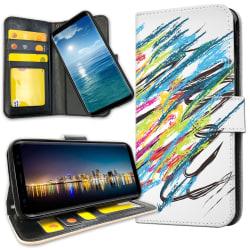Huawei Mate 20 Lite - Plånboksfodral Modern Konst