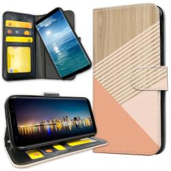 Huawei Mate 20 Lite - Plånboksfodral Träkonst