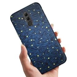 Huawei Mate 20 Lite - Skal / Mobilskal Stjärnmönster