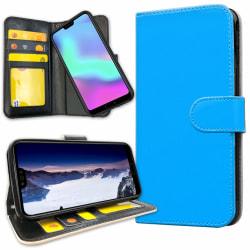 Huawei Mate 20 Pro - Plånboksfodral Ljusblå Lightblue