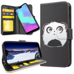 Huawei Mate 20 Pro - Plånboksfodral Pandahuvud