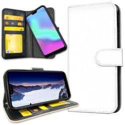 Huawei Mate 20 Pro - Plånboksfodral Vit Vit