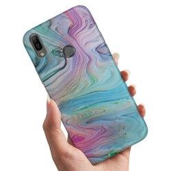 Huawei P20 Lite - Skal / Mobilskal Målarfärg Mönster