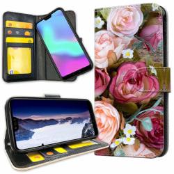 Huawei P20 Pro - Plånboksfodral Blommor
