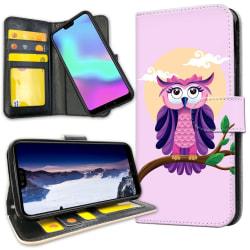 Huawei P20 Pro - Plånboksfodral Fin Uggla