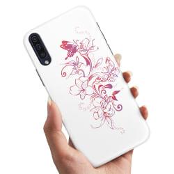 Huawei P20 - Skal / Mobilskal Blommor & Fjärilar