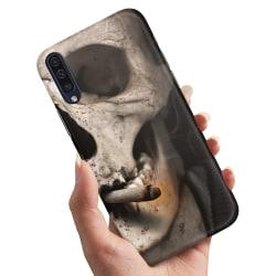 Huawei P20 - Skal / Mobilskal Smoking Skull