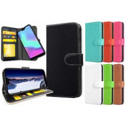 Huawei P30 Lite - Plånboksfodral / Skal med Magnet Svart
