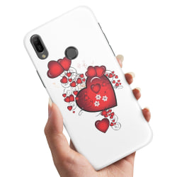 Huawei P30 Lite - Skal / Mobilskal Hjärtan