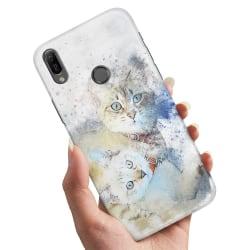 Huawei P30 Lite - Skal / Mobilskal Katter