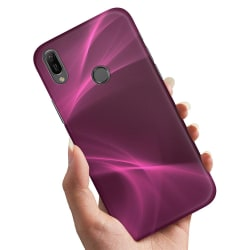 Huawei P30 Lite - Skal / Mobilskal Purple Fog