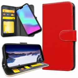 Huawei P30 - Plånboksfodral Röd