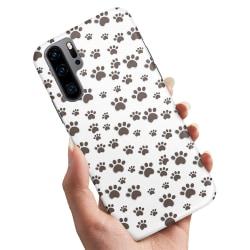 Huawei P30 Pro - Skal / Mobilskal Paw Pattern
