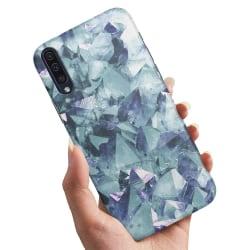 Huawei P30 - Skal / Mobilskal Blåa Fragment