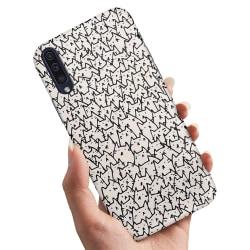 Huawei P30 - Skal / Mobilskal Kattgrupp