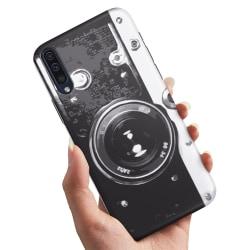 Huawei P30 - Skal / Mobilskal Retro Kamera