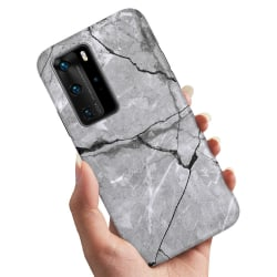 Huawei P40 - Skal / Mobilskal Marmor