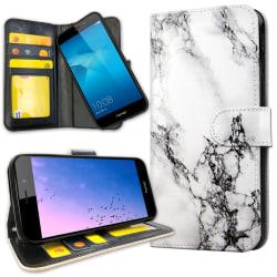 Huawei Y6 (2017) - Plånboksfodral Marmor