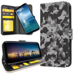 Huawei Y6 (2019) - Plånboksfodral Kamouflage