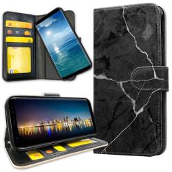Huawei Y6 (2019) - Plånboksfodral Marmor