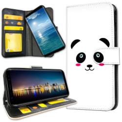 Huawei Y6 (2019) - Plånboksfodral Panda