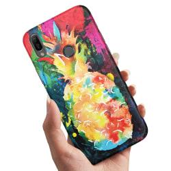 Huawei Y6 (2019) - Skal / Mobilskal Regnbåg Ananas