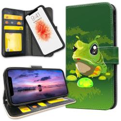 iPhone 11 Pro - Plånboksfodral Groda