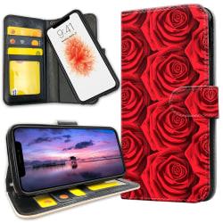 iPhone 11 Pro - Plånboksfodral Röda Rosor