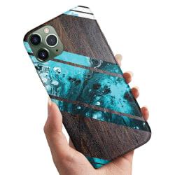 iPhone 11 - Skal / Mobilskal Blått Konstmönster