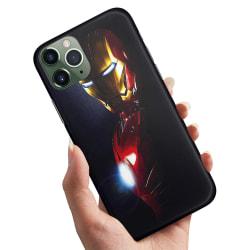 iPhone 11 - Skal / Mobilskal Glowing Iron Man
