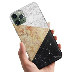 iPhone 12 Mini - Skal / Mobilskal Marmorskivor