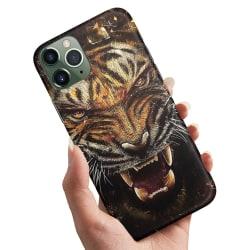 iPhone 12 Pro - Skal / Mobilskal Rytande Tiger