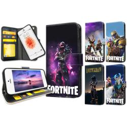 iPhone 5/5S/SE - Fortnite Plånboksfodral / Skal 33
